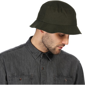 Regatta Sampson Wax Hat, dark khaki